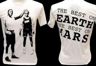 SPIKE LEE MARS vs Michael Jordan 23 VTG Retro T Shirt M