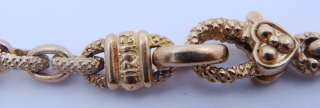 Ladies Designer Judith Ripka 18K Gold Diamond Pearl Necklace