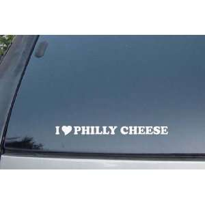 Love Philly Cheese Vinyl Decal Stickers