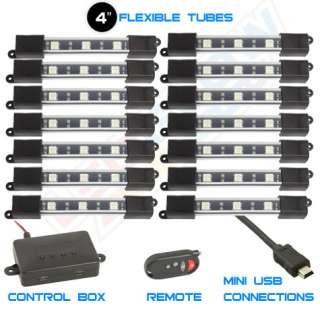 MILLION COLOR MINI SMD LED MOTORCYCLE ACCENT GLOW LIGHT KIT