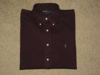 Mens Ralph Lauren Oxford Polo Shirt, Lot of 4 (Extra Large)