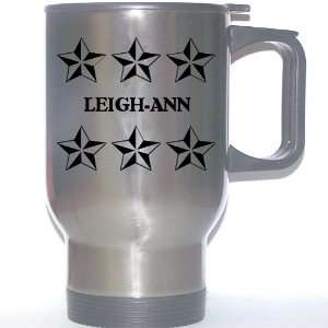 Personal Name Gift   LEIGH ANN Stainless Steel Mug