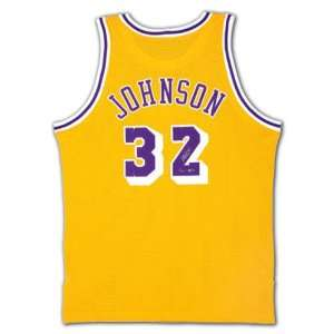Magic Johnson Autographed 1979 1980 Lakers Home Jersey