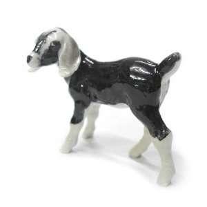 GOAT NUBIAN Kid MINIATURE New Figurine Porcelain NORTHERN