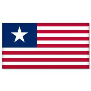 Texas Lone Star Flag car bumper sticker window decal 6 x