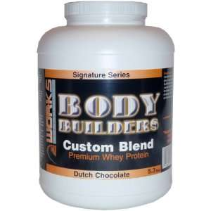Protein Body Builders Custom Blend Premium 5.3lbs   Dutch Chocolate