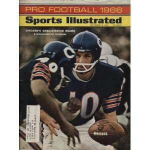1966 Pro Football Unsigned Sports Illustrated Magazine   Sept. 12