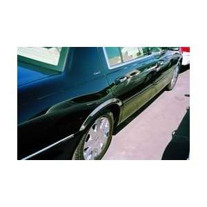 LINCOLN TOWN CAR 03 07 CHROME STEEL FENDER TRIM Automotive