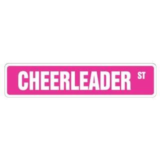 Personalized Cheerleader Wall Decal Art Sticker Words