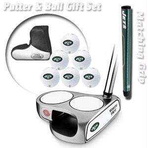 New York Jets NFL Team Logod Golf Balls (6) and White