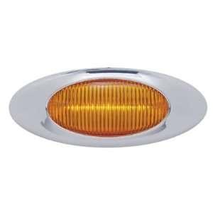 Amber 5 LED Truck Trailer Side Marker Clearance Light