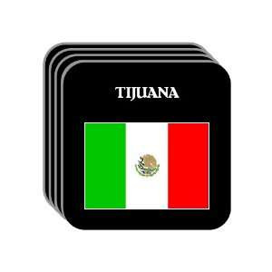 Mexico   TIJUANA Set of 4 Mini Mousepad Coasters