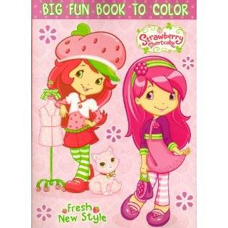 Strawberry Shortcake Big Fun Book to Color ~ Fresh New Style (96 Pages