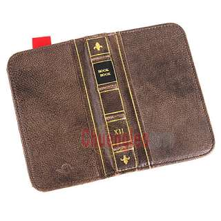BookBook Wallet Genuine Sheepskin Leather Case for iPhone 4 4S