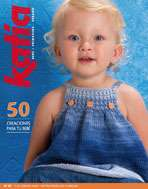 Katia #52 spring summer child fashion knitting pattern