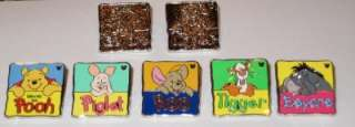Winnie Pooh & Friends 2012 Hidden Mickey Disney Pin Set Tigger Piglet