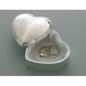 Wedding Favors Personalized Heart Trinket Box Health