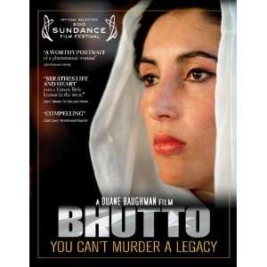 Bhutto Poster Movie Style B (11 x 17 Inches   28cm x 44cm):