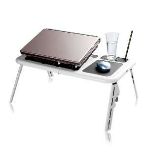 LAPTOP NOTEBOOK TABLE USB COOLING FAN & MOUSE PAD