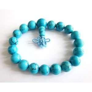 Beads Tibetan Buddhist Prayer Meditation Wrist Mala Rosary Bracelet