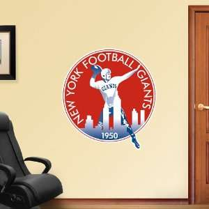 NFL New York Giants Classic Logo Vinyl Wall Graphic Decal