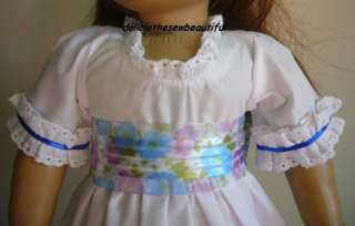 Doll Clothes fit American Girl Felicity Summer Gown Set