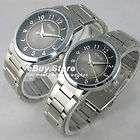 lady luxury Crystal diamond Black couple lovers Wrist Watch SN7