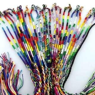 lots 30pcs Colorful macrame Friendship Bracelet boys girls gift