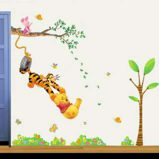 Winne the Pooh Tree Wall Removable Decals