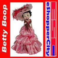 Betty Boop Porcelain Figural Doll Lamp, New