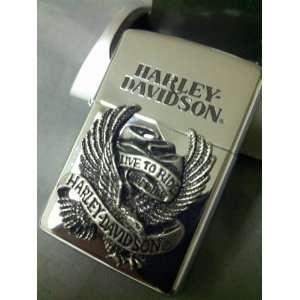 JAPANESE DESIGN HARLEY DAVIDSON ZIPPO LIGHTER Everything