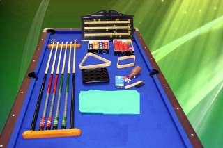 POOL TABLE 8FT SNOOKER BILLIARD, FREE TABLE TENNIS TOP