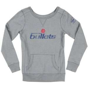 Washington Bullets Womens adidas Originals Grey Bigger