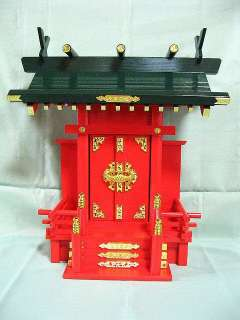 KAMIDANA House Model of Japanese Shrine Temple God Buddha