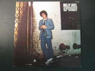 vinyl record album Billy Joel  52nd Street