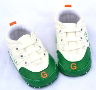 White green infants toddler baby boy walking shoes size 0 18 months
