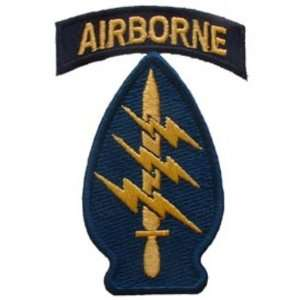 U.S. Army Special Forces Airborne Patch Blue & Yellow 3