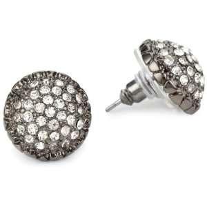 Betsey Johnson Iconic Crystal Fireball Stud Earrings