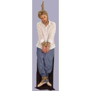 Mens Funny Costume Hanging Noose Hanged Dead Man Outfit Adult Standard