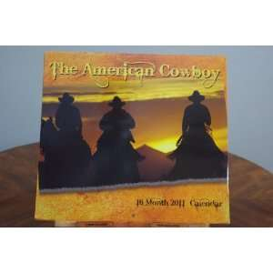 2011 Large Wall Calendar   The American Cowboy: Office