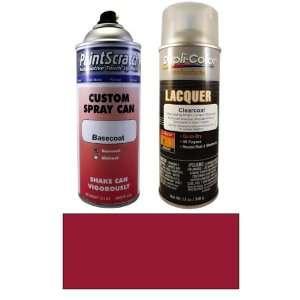 12.5 Oz. Crimson Pearl Metallic Spray Can Paint Kit for 2011 Honda