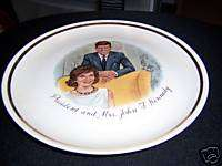 president mr & mrs john f kennedy collector plates