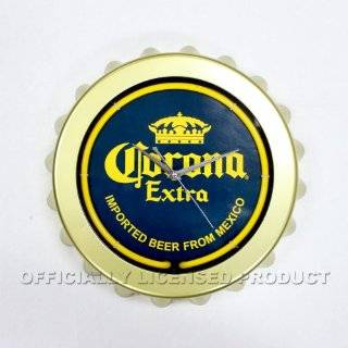 Corona Extra Beer Cerveza Bottle Bar Sign Neon Clock: Home