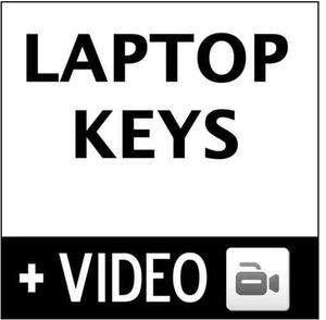 Dell Studio Laptop Keyboard Key PP39L W860J PP31L PP33L