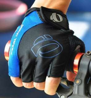 NEW Outdoor 2012 BMX Cycling Bike Bicycle Half Finger Gloves Blue Size
