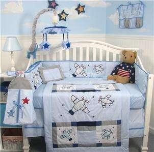 Glenna Jean Mckenzie 8 Pc Crib Nursery Bedding Set New