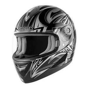 Shark S650 LINK BK_SL_BK XS MOTORCYCLE Full Face Helmet