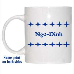 Personalized Name Gift   Ngo Dinh Mug: Everything Else