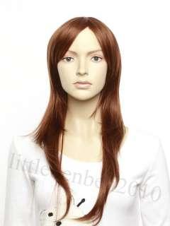 2011 NEW Korean Fashion Long Wig Hair Straight Wig Oblique Fringe