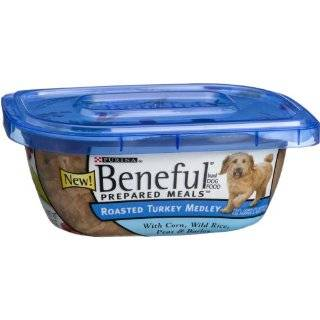 Beneful Dog Food Prepared Meals Roasted Turkey Medley, 10 Ounce